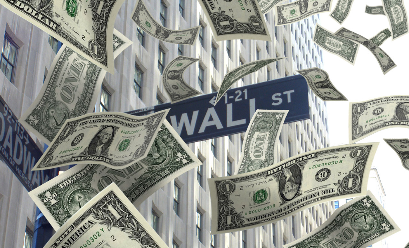 Banconote Wall Street